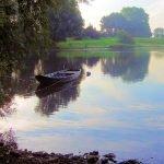 Small Boat on the Maas near Alem